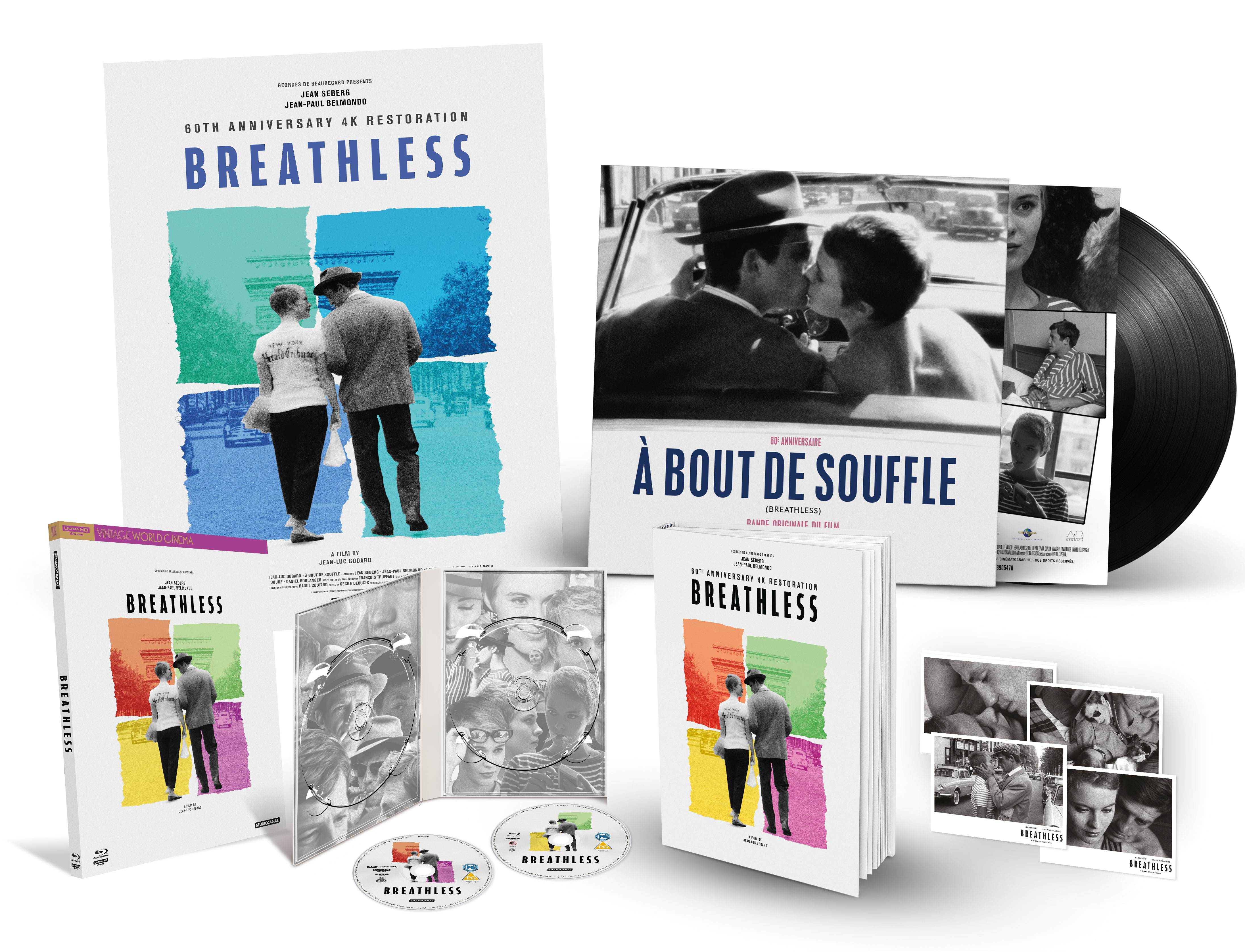 BREATHLESS - 60TH ANNIVERSARY EDITION